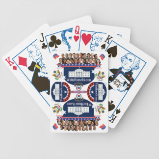 White House 2016 Republican Election Playing Cards