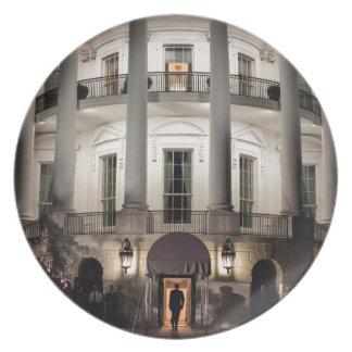 White House 2 Dinner Plate