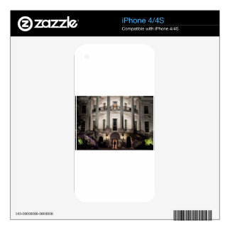 White House 2 Skins For The iPhone 4S