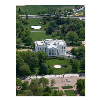 White House Aerial Photograph Postcard