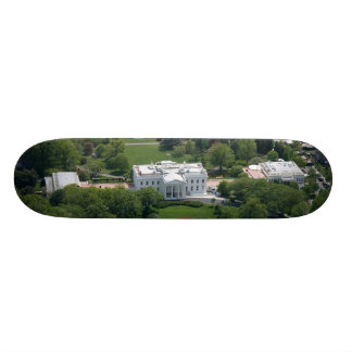 White House Aerial Photograph Skateboard Deck