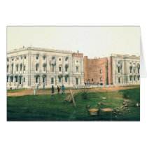 White House After British Attack 1814