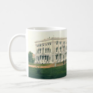 White House After British Attack 1814 Coffee Mug