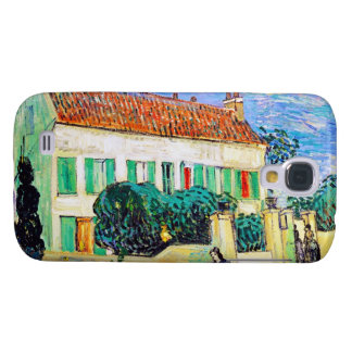 White House at Night by Van Gogh Galaxy S4 Cover