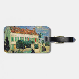 White House at Night by Vincent Van Gogh Bag Tag