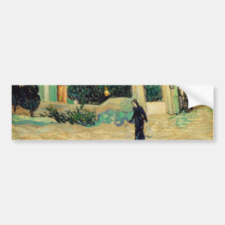 White House at Night by Vincent Van Gogh Bumper Sticker
