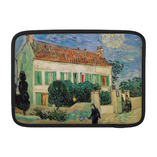 White House at Night by Vincent Van Gogh MacBook Sleeve