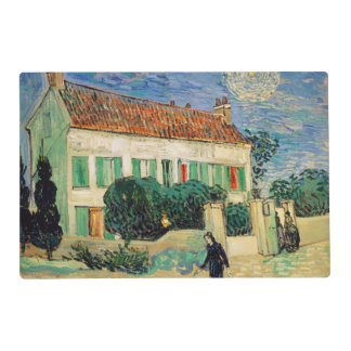 White House at Night by Vincent Van Gogh Placemat