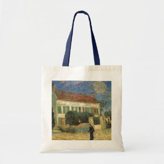 White House at Night by Vincent van Gogh Tote Bag
