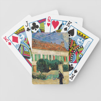 White House at Night - Van Gogh (1890) Bicycle Playing Cards