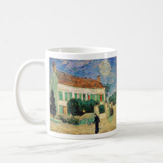 White House at Night - Van Gogh (1890) Coffee Mug