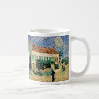 White house at night - Vincent van Gogh Coffee Mug