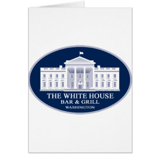 White House Bar & Grille Card