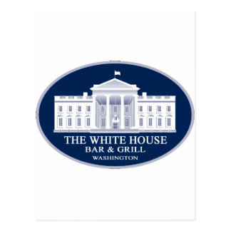 White House Bar & Grille Postcard
