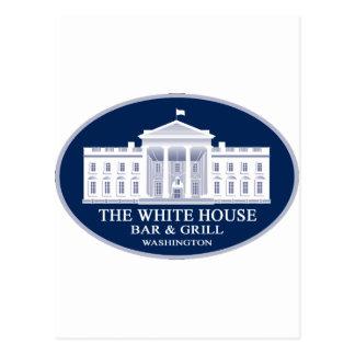 White House Bar & Grille Postcard
