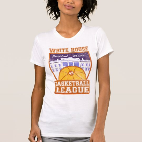 White House Basketball League Vint... - Customized T-Shirt
