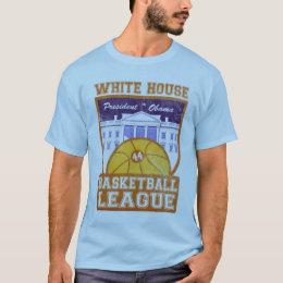 White House Basketball League Vintage - Customized T-Shirt