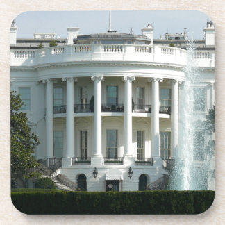 White House Beverage Coaster