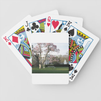 White House Bicycle Playing Cards
