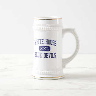 White House Blue Devils Middle White House Beer Stein