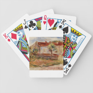 White House by Pierre-Auguste Renoir Bicycle Playing Cards