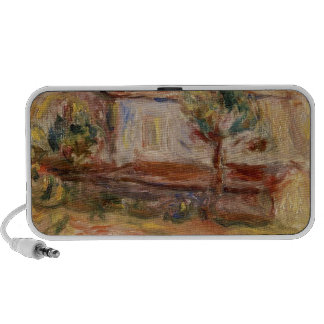 White House by Pierre-Auguste Renoir Portable Speaker