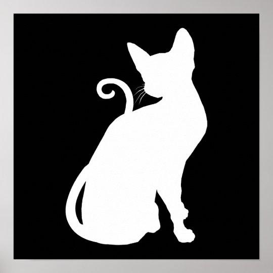 White House Cat Poster
