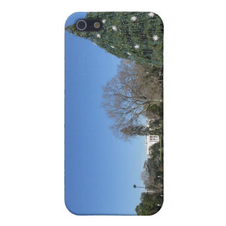 white house christmas decorations iPhone SE/5/5s cover