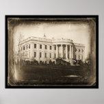 White House DC Daguerreotype 1846 Print
