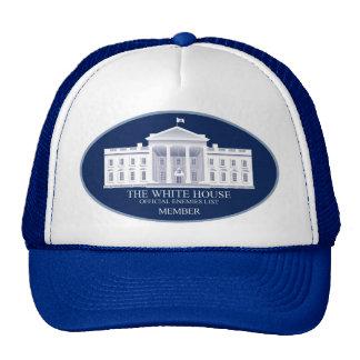 White House Enemies List Ball Cap Trucker Hat
