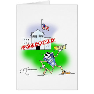 White House Foreclosed Card