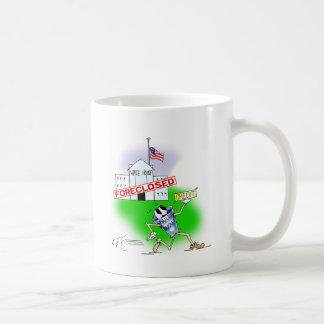 White House Foreclosed Classic White Coffee Mug