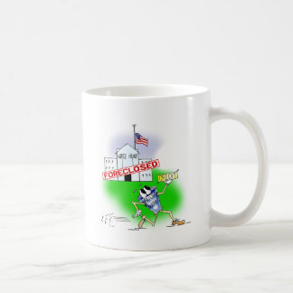White House Foreclosed Coffee Mug