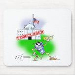 White House Foreclosed Mouse Pad