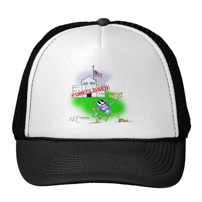 White House Foreclosed Trucker Hat