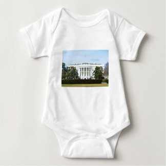 White House From The Lawn Baby Bodysuit