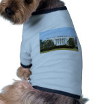 White House From The Lawn Doggie Tee