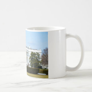 White House From The Lawn Coffee Mugs