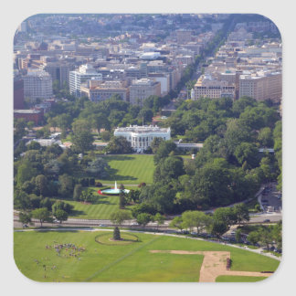 White House from Washington Monument jpg Stickers