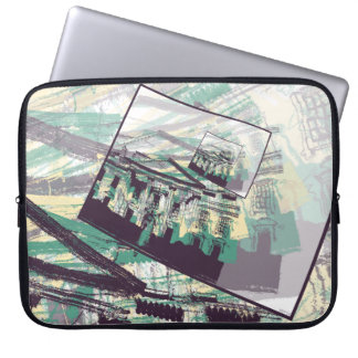 White House Graphic Laptop Sleeve