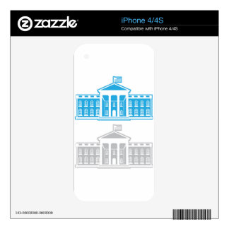 White House iPhone 4 Skins
