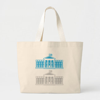 White House Large Tote Bag