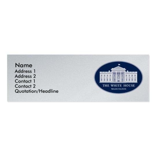 White House Mini Business Card