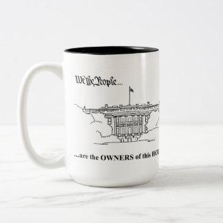 White House Mug - WE THE PEOPLE