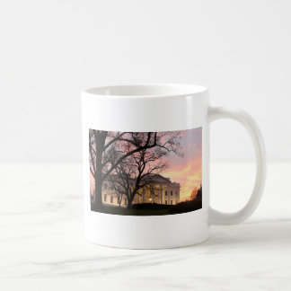 White House Night Scene Coffee Mug