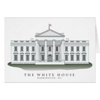 White House Notecards Stationery Note Card