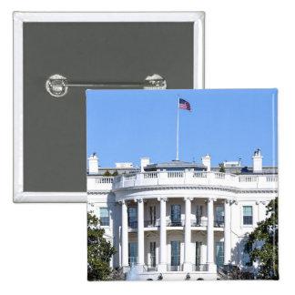White House of the United States - Washington DC Button