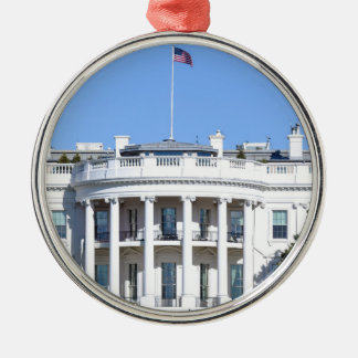 White House of the United States - Washington DC Metal Ornament
