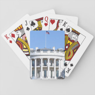 White House of the United States - Washington DC Playing Cards