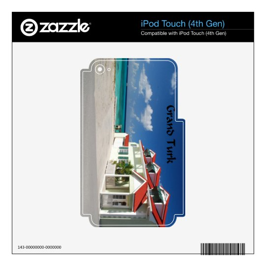 White House on Grand Turk Decal For iPod Touch 4G